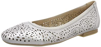 Womens 22100 Closed Toe Ballet Flats Caprice 9rFE4v9