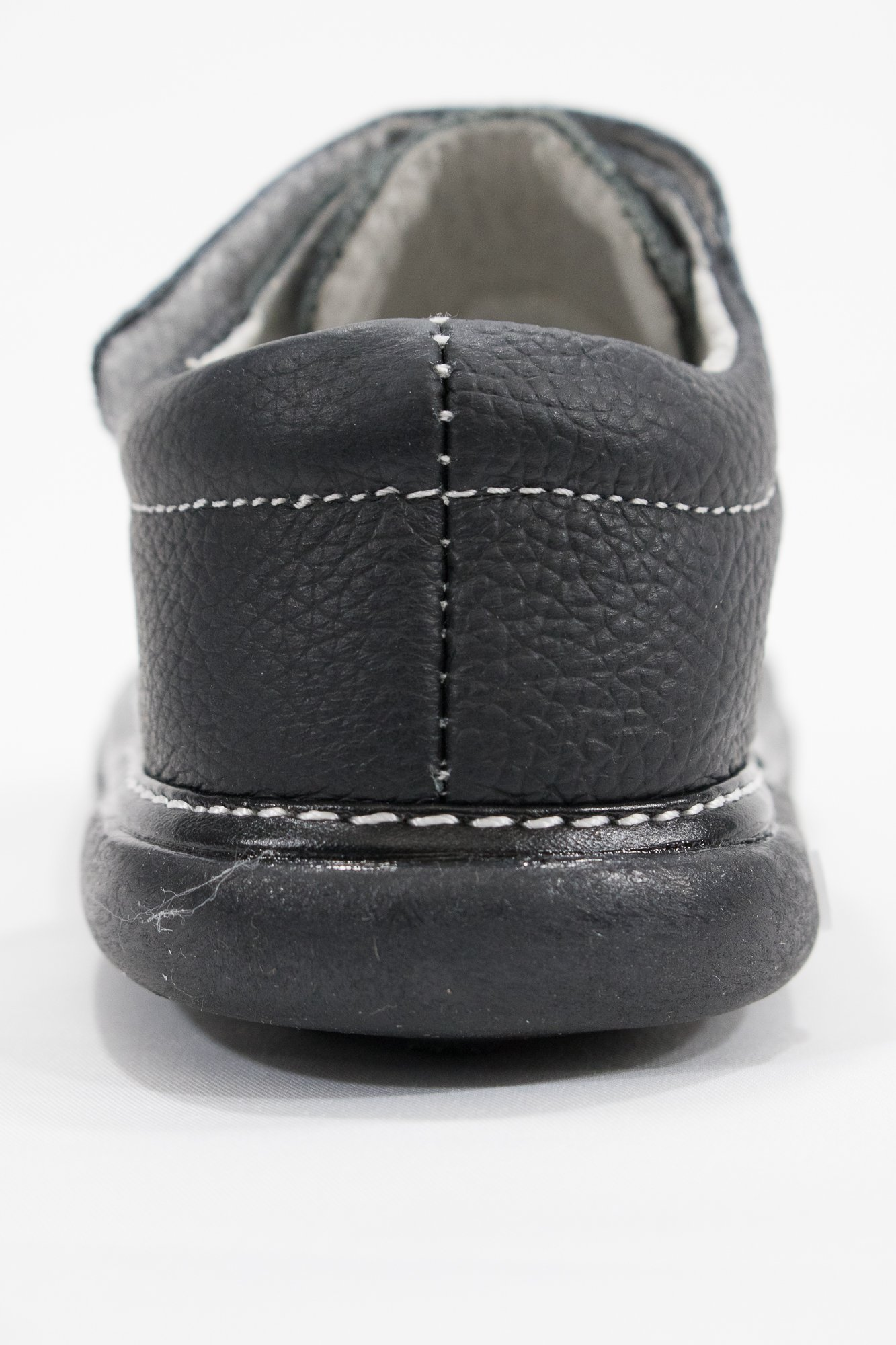 Anderson Baby Care LLC Squeaky Shoes for Toddler Boys (4T, Black Loafer) by Anderson Baby Care LLC (Image #4)