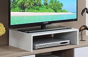 Convenience Concepts 121041W Designs2Go Monitor Riser Small White