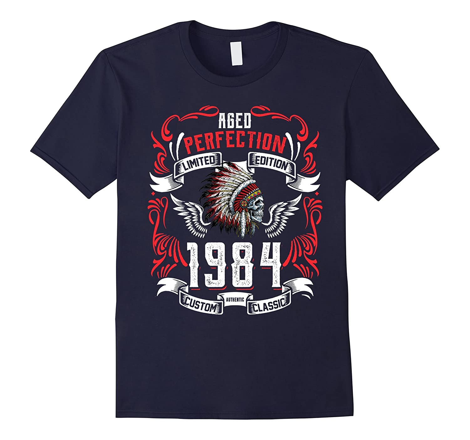 33th Birthday Limited Edition 1984 Tee Shirt-BN