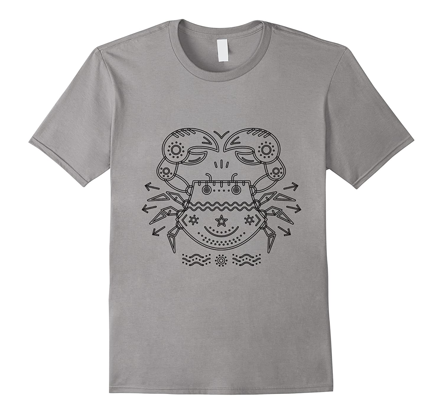 "Double-Sided ""Cancer the Crab"" Zodiac T-Shirt"