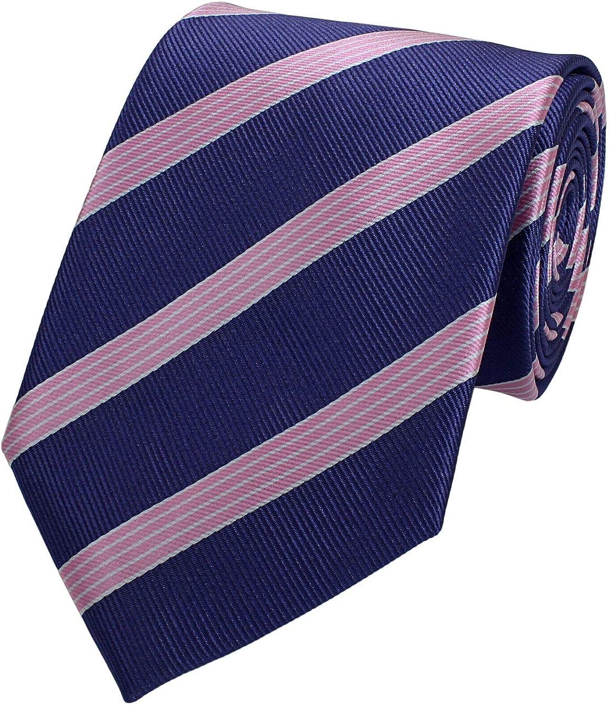 8 cm in verschiedenen Farben Hochzeit Business Anzugskrawatten Fabio Farini Edle Krawatte