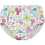アイプレイ iplay オムツ機能付 水遊び用パンツ スイムダイパー スイミングパンツ 女の子 L:18ヶ月/10-11.5kg White Sea Pals