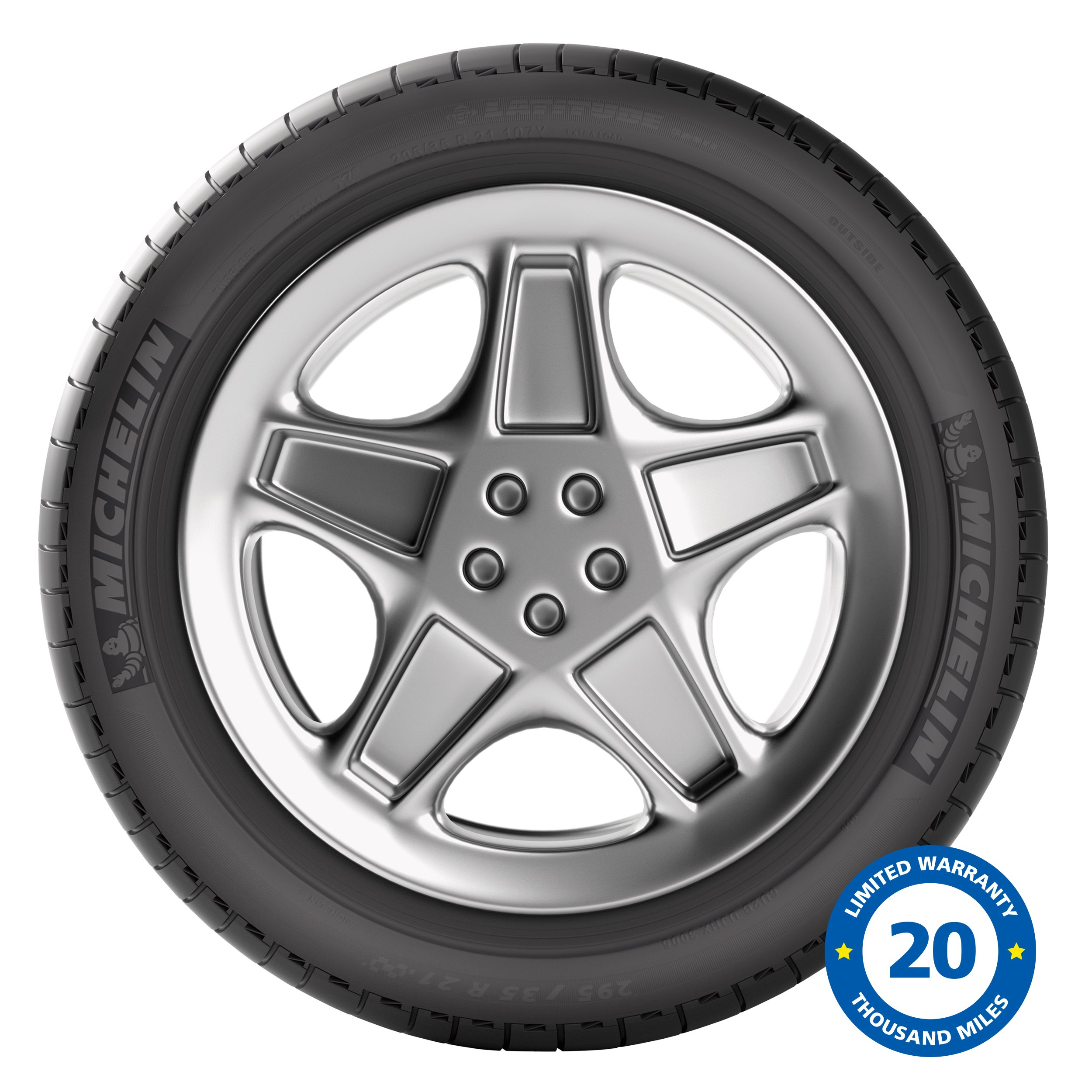 Michelin Latitude Sport Touring Radial Tire - 255/55R20/XL 110Y
