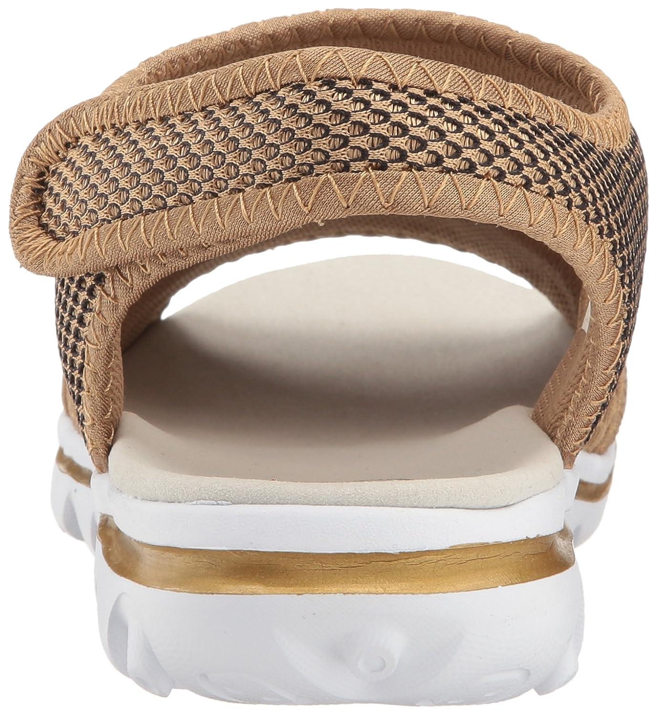 Propet Women's 12 TravelActiv Ss Sandal B01IODC2FK 12 Women's B(M) US|Gold/Black a44252