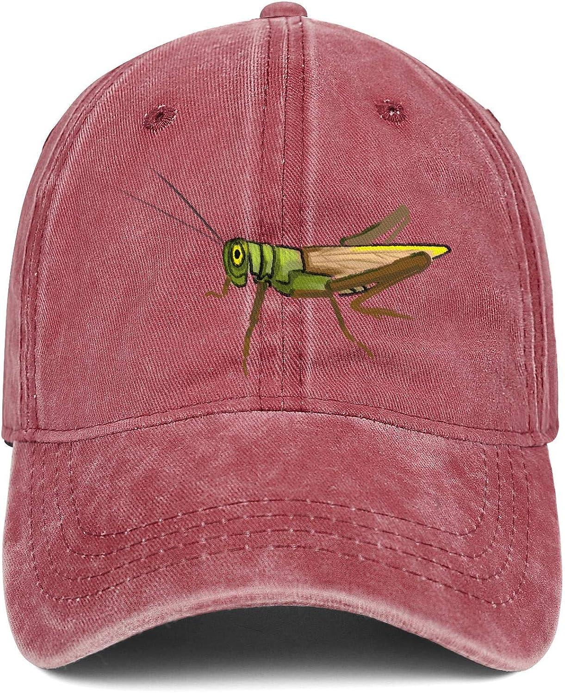 Unisex Grasshopper Cowboy Hats Fashion Adjustable Sun Caps