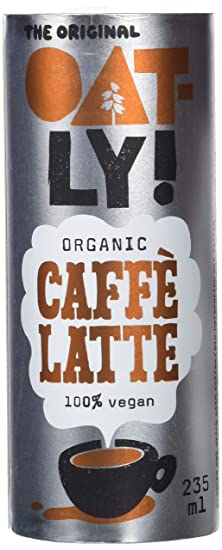 Oatly Caffé Latte, Bebida de café - 6 de 235 ml. (Total 1410