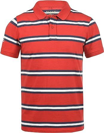 BLEND Pique Camiseta Polo De Manga Corta para Hombre con Cuello De ...