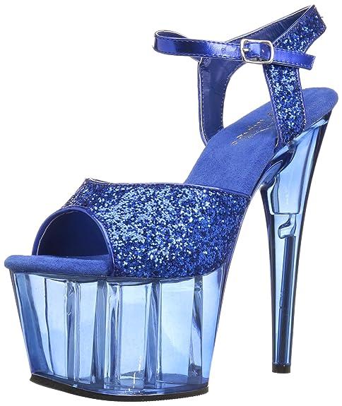 4d535573069 Pleaser Women's Adore-710GT Sandal: Amazon.ca: Shoes & Handbags