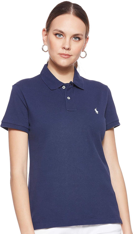 Polo Ralph Lauren Womens Classic Fit Mesh Polo Shirt, Newport Navy, S