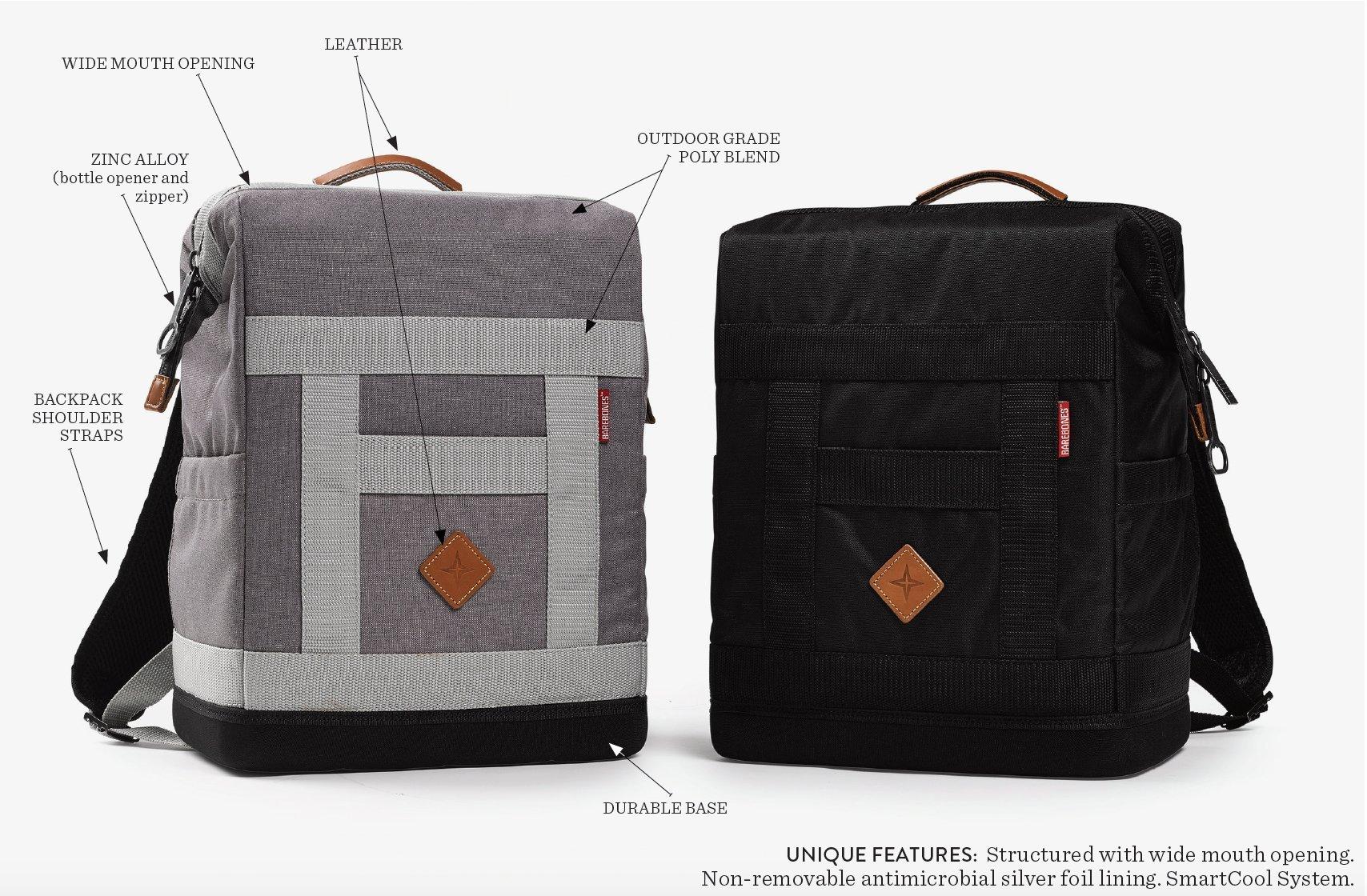 Barebones Living - Rambler Cooler   Outdoor Soft Side Lunch Bag Cooler Holds Up To 20 12oz Cans