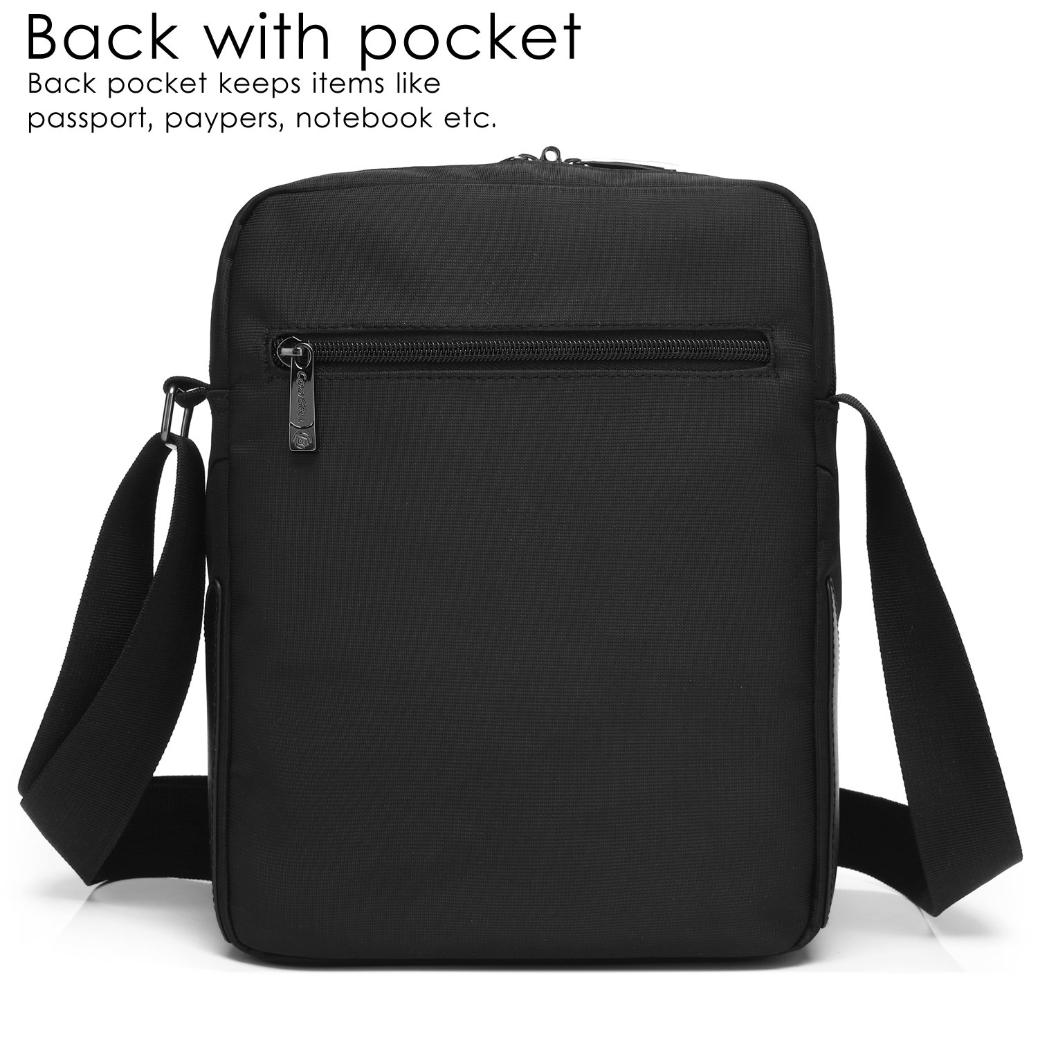 1a8c571b64 CoolBELL 10.6 inches Shoulder Bag Fabric Messenger Bag iPad Carrying case  Hand Bag Tablet Briefcase Waterproof Oxford Cloth Laptop Computer Shoulder  Bag for ...