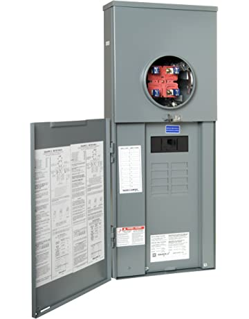 square d by schneider electric rc816f200c homeline 200-amp main breaker  8-space 16