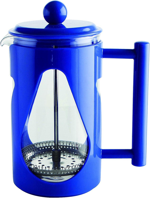 Quid Ceylon - Cafetera émbolo de 600 ml, color azul: Amazon.es: Hogar
