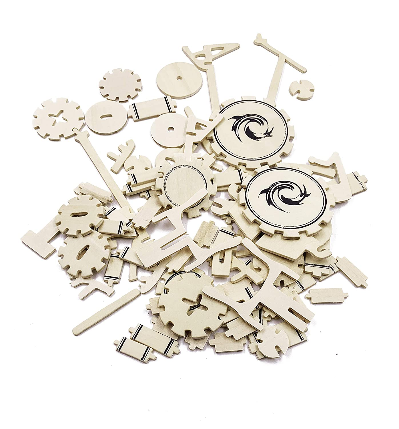 3D Wooden Jazz Drum Puzzle Manual Jigsaw Stereo Simulation Model Children Puzzle Ideal Gifts for Adults and Kids/ SEA-LAND