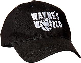 Magic Headwear Wayne s World Adult Adjustable Black Baseball Hat Cap ac41cb97a0d1