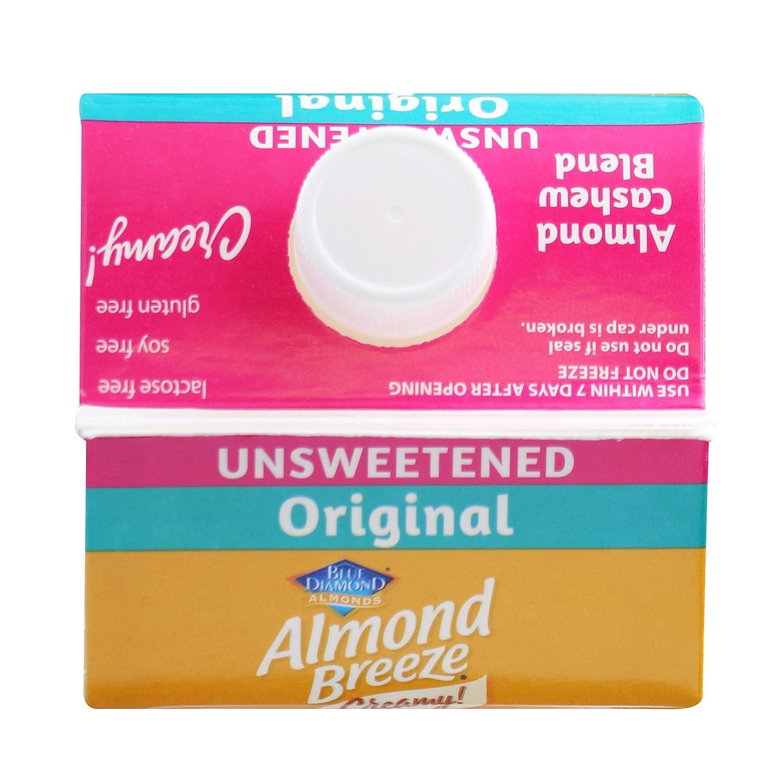 Almond Breeze Almond Cashew, Unsweetened Original ...