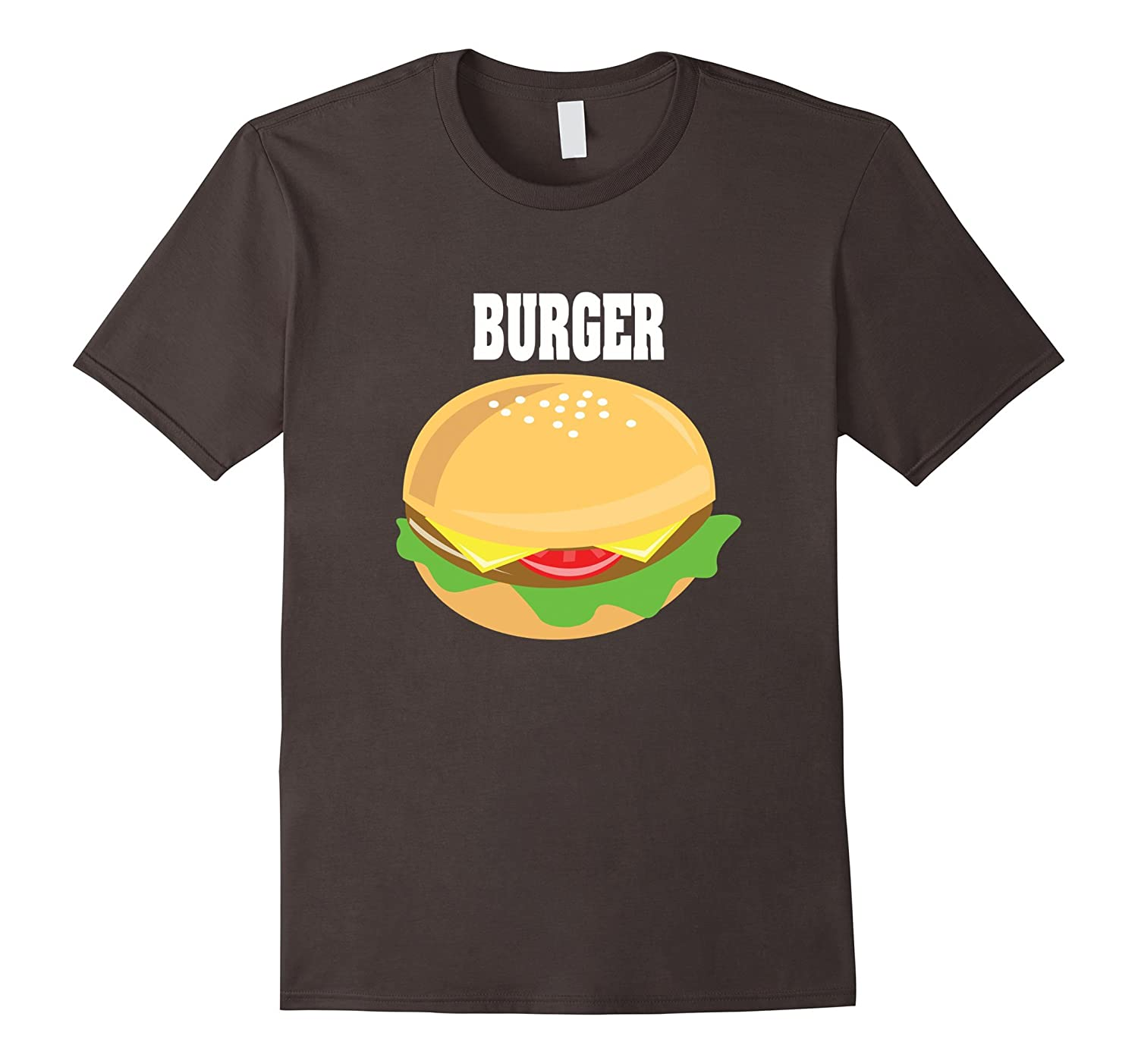 Cheeseburger Couples Halloween Costume Shirt Burger & Fries