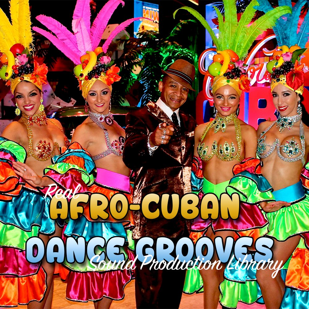 Afro-Cuban Grooves - the very Best of - unique original Huge WAVE/Kontakt Multi-Layer Samples Library on DVD or download by SoundLoad