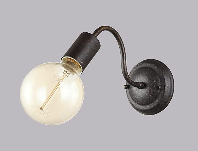 Lampada parete applique classico rustico country vintage sconces