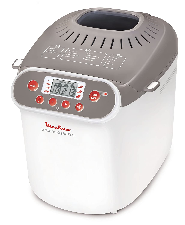 Moulinex OW3501 - Panificadora (Beige, Color blanco, 700 W, 700 W ...