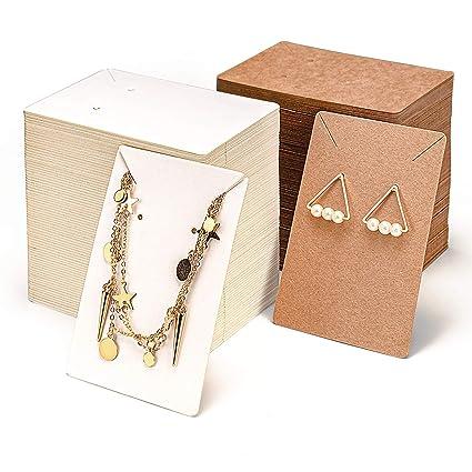 Amazon.com: PGFUNNY - Juego de tarjetas para pendientes ...