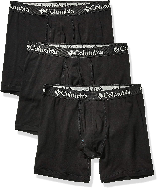 Columbia Mens Cotton Stretch 3 PK Boxer Brief
