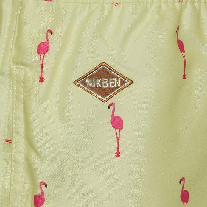dc342722390b2 Nikben Flamingo Men's Swim Shorts, Lemon XX-Large: Amazon.ca: Clothing &  Accessories