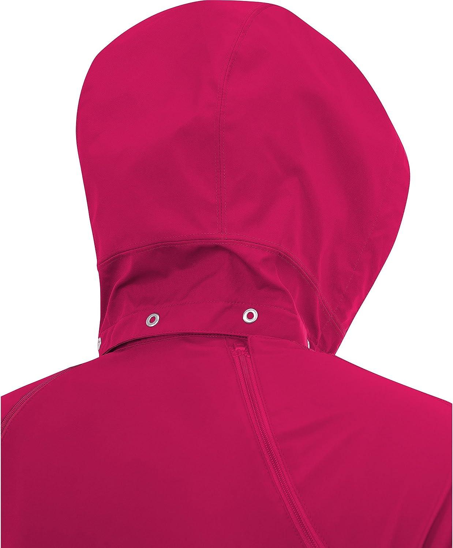 ESSENTIAL LADY Zip-Off Jacket Taille 40 Noir GORE RUNNING WEAR Femme Veste de Course 2 en 1 Manches et Capuche D/étachables