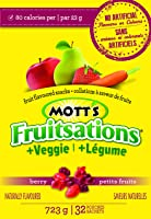 Mott's Fruitsations Veggie Berry, 32-Count, 723 Gram