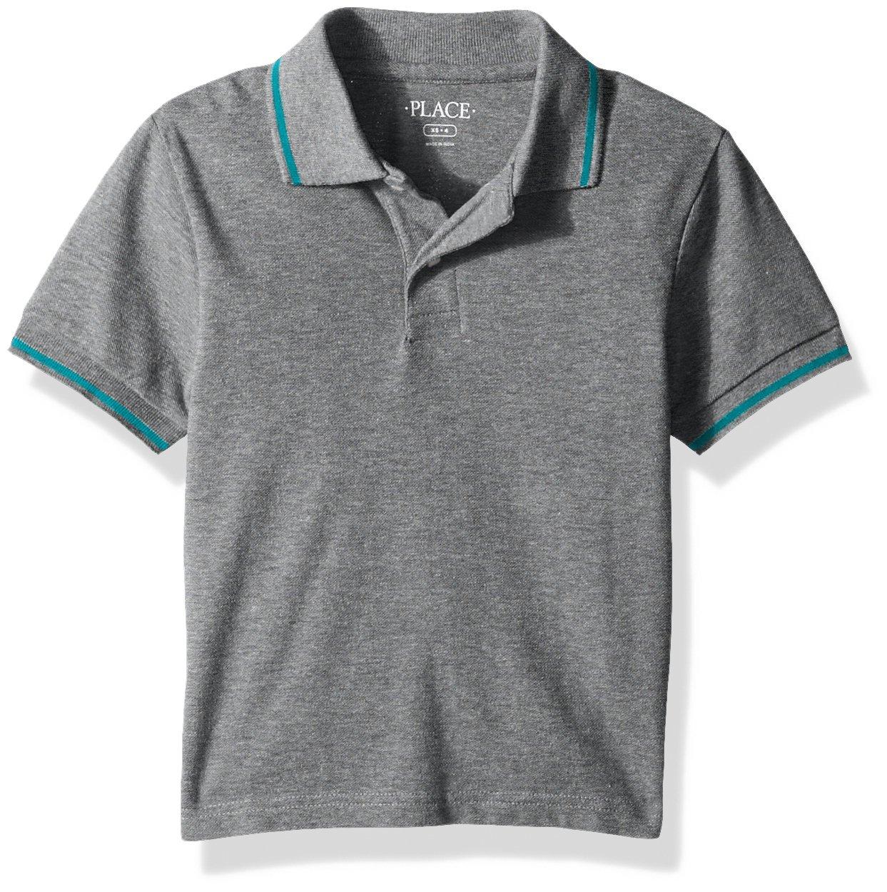 The Children's Place Boys Big Boys Short Sleeve Polo 2102724