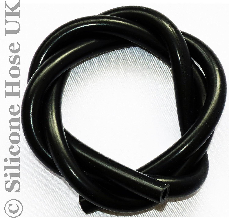 color negro Tubo de silicona para v/álvula de vac/ío de 10 mm