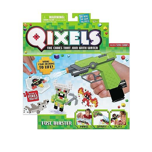 qixels fuse blaster playset amazon co uk toys games