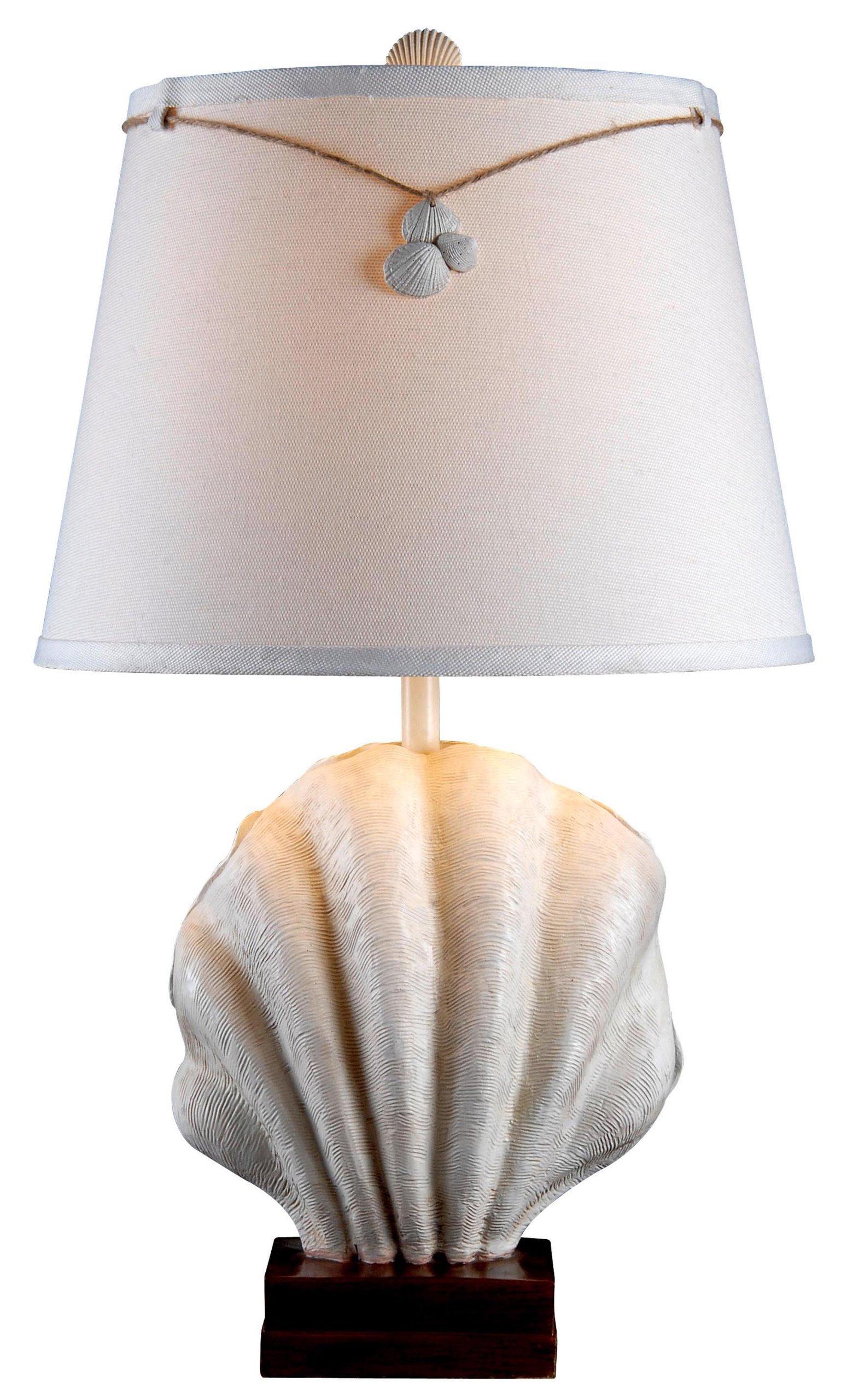 Kenroy Home 32268AWH Islander Table Lamp, Antique White Finish