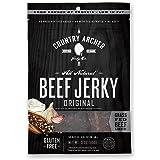 Country Archer 100% Grass-Fed Gluten Free Beef Jerky, Original, 3 Ounce