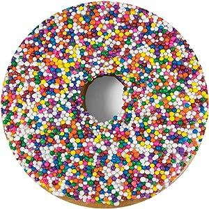 Ultra-Realistic Lightweight Novelty Decorative Throw Food Blanket (Donut)
