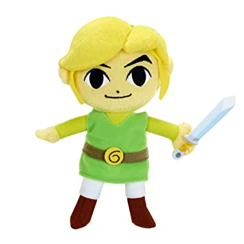 "World Of Nintendo The Legend Of Zelda Link 7"" Juguete de Peluche"