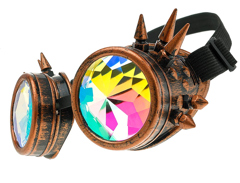 gafas steampunk mujer