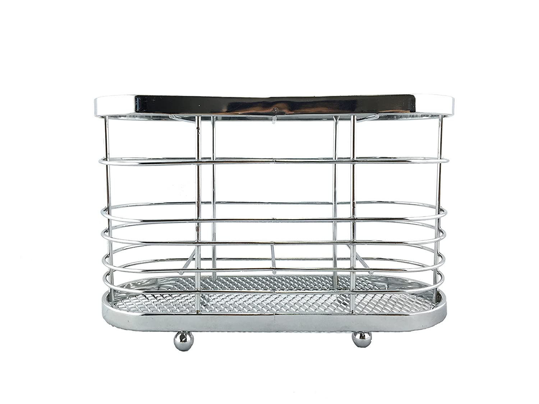 Superiore Livello Utensil Holder. Modern Stainless Steel Counter Top Utensil Rack. Star Element COMIN18JU049811