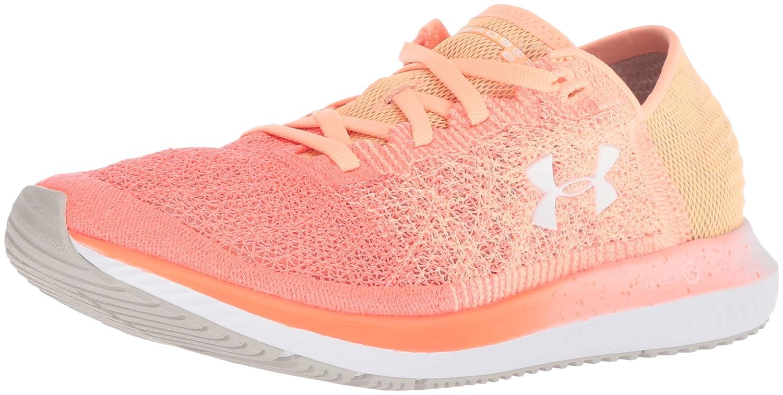 Under Armour Women's Threadborne Blur Running Shoe B0773ZVV19 7.5 M US|Peach Horizon (800)/After Burn