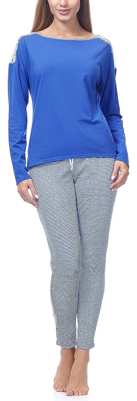 Merry Style Pijama Conjunto Camiseta y Pantalones Mujer MS-MS10-142