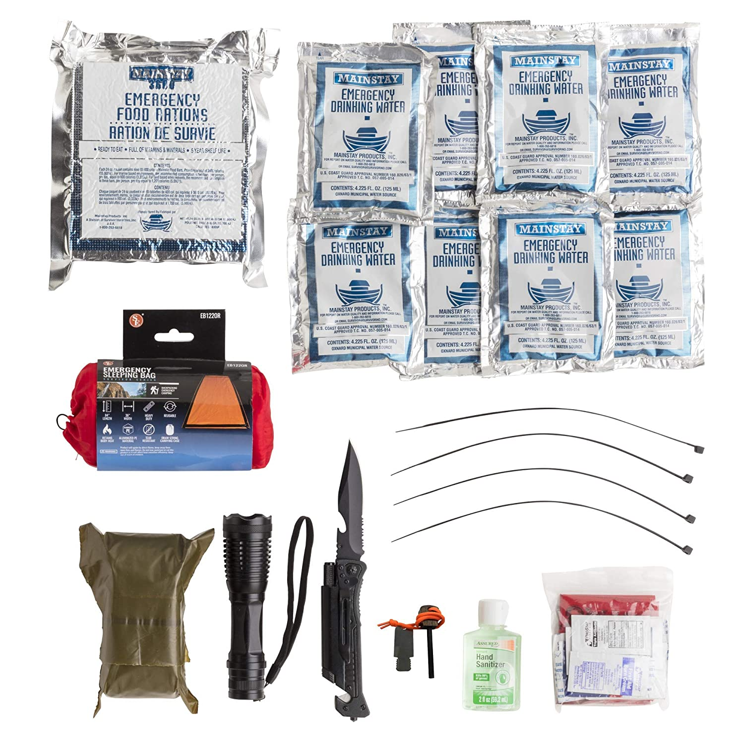 Emergency Case Quick Kit – 1 Person 3 Plus Days – Bug-Out Bag