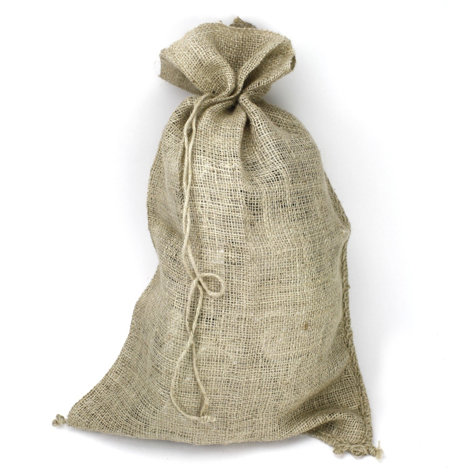 Kel-Toy Christmas and Everyday Gift Wrap & Crafting Jute Sacks in 3 Colors BUYERS' CHOICE (2, natural)