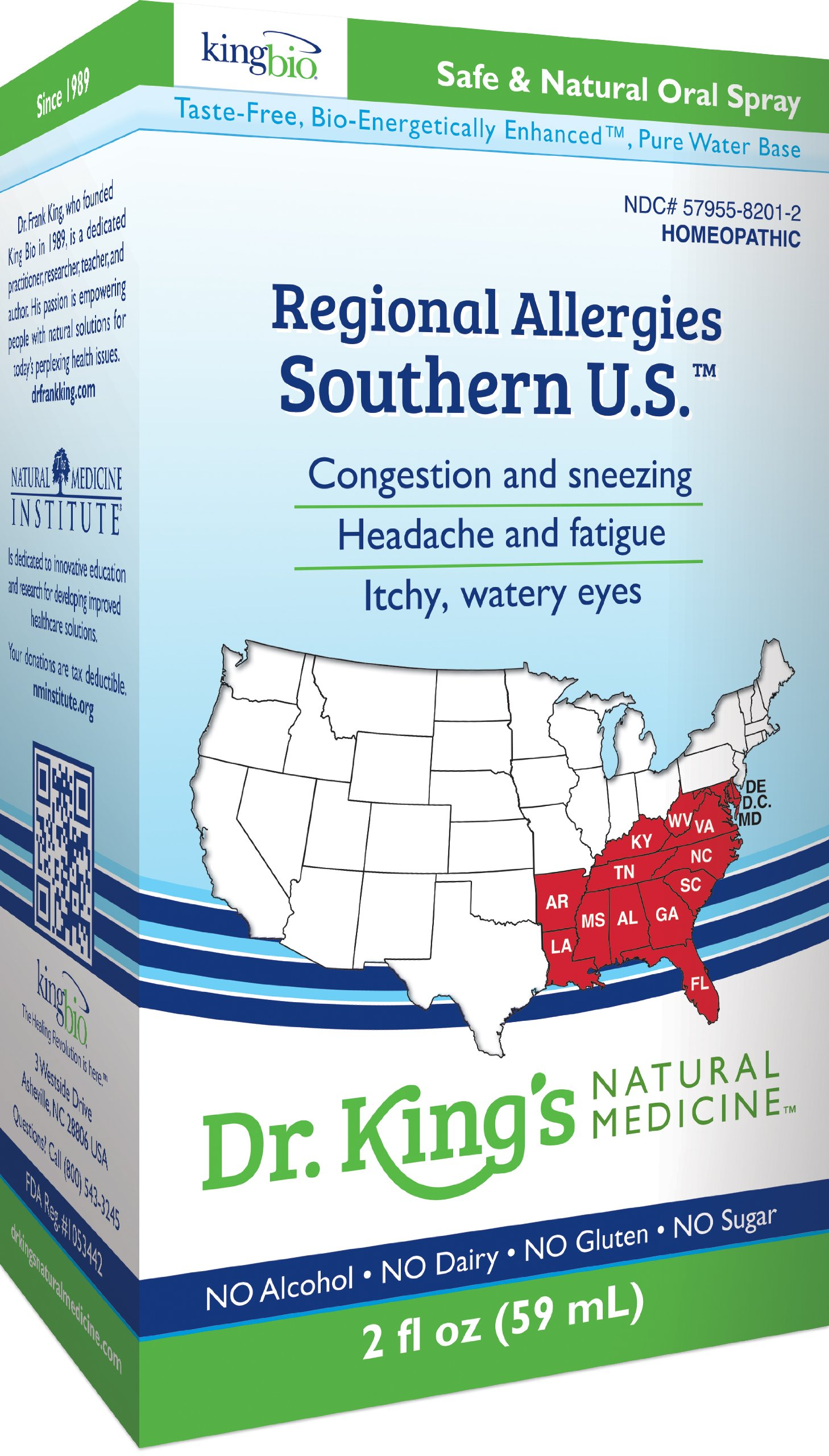 Amazon.com: Dr. King\'s Natural Medicine Regional Allergies, Southern ...