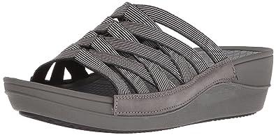 5189f142265 BareTraps Beverly Women s Sandals   Flip Flops Black Size 5.5 M ...