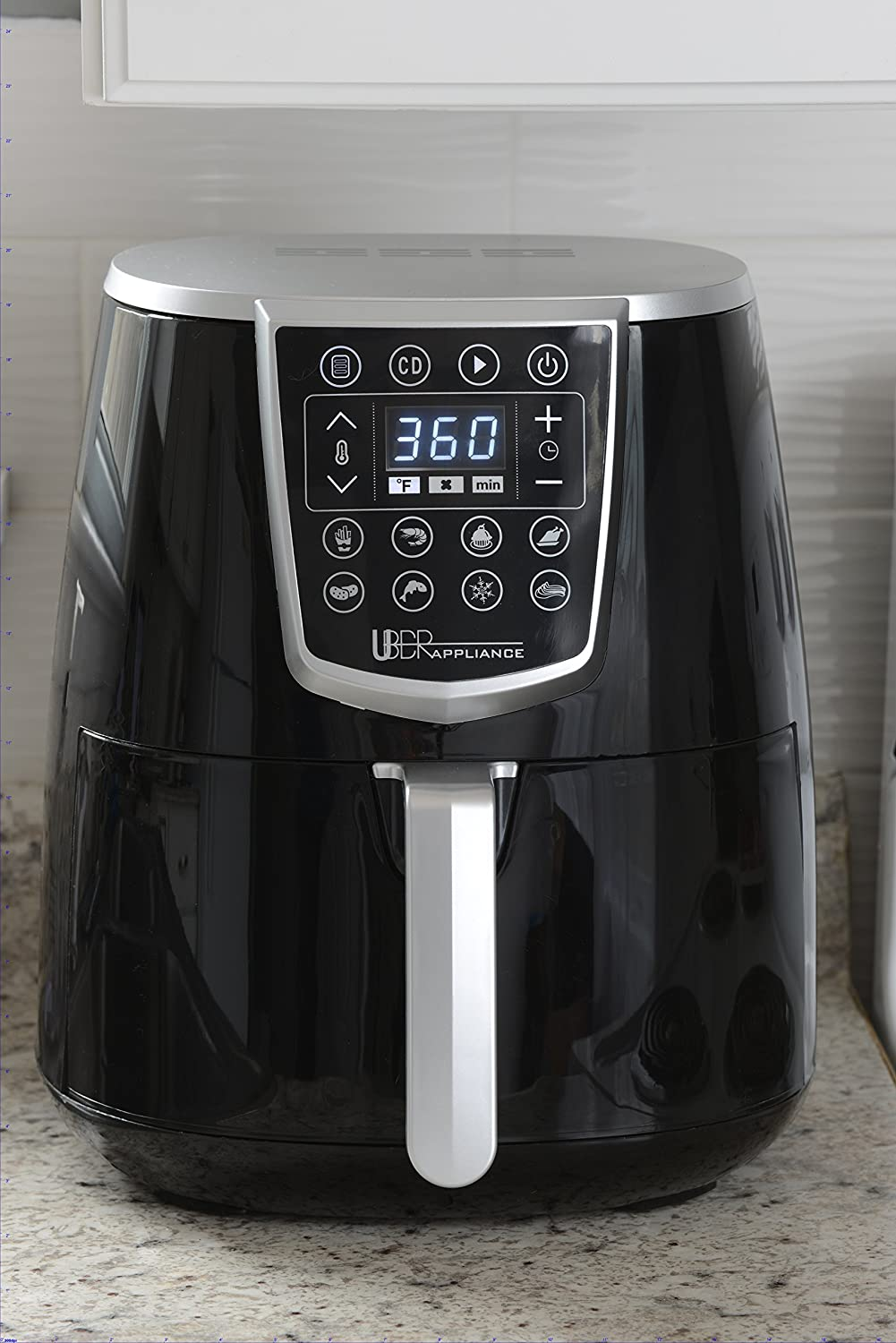 Uber Appliance Air Fryer XL Big Hot 4.2 Quart