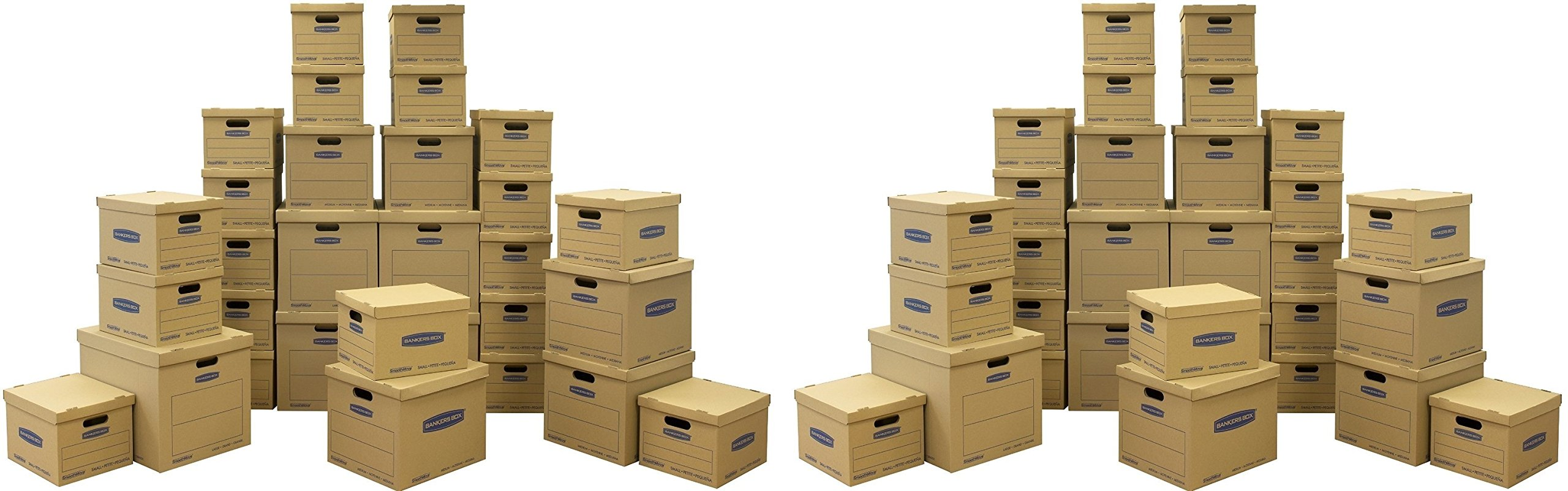 Bankers Box Moving Box, (7716501) (60 Pcs Total)