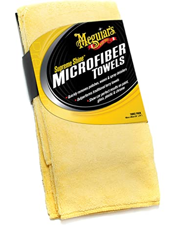 Meguiars Car Care Products X2020 Pack de 3 Toallas de Microfibra Premium