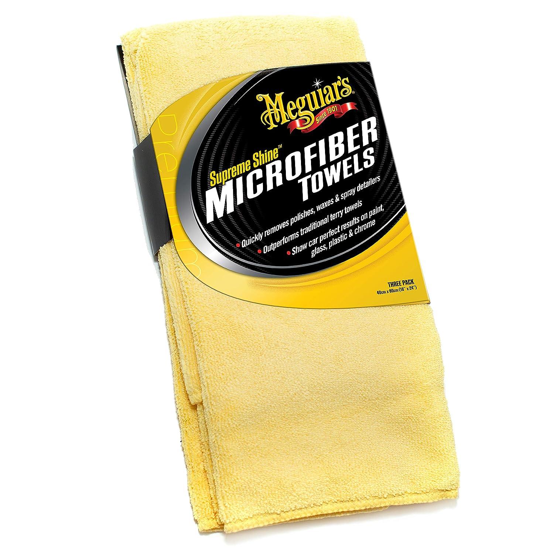 Meguiars X2020 Supreme Shine Microfiber Towels Pack of 3