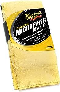 Meguiar's X2020 Supreme Shine Microfiber Towels, Pack of 3,Yellow